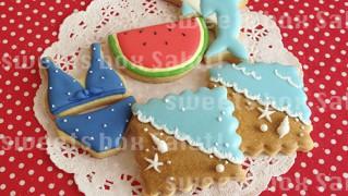 夏!!なアイシングクッキー