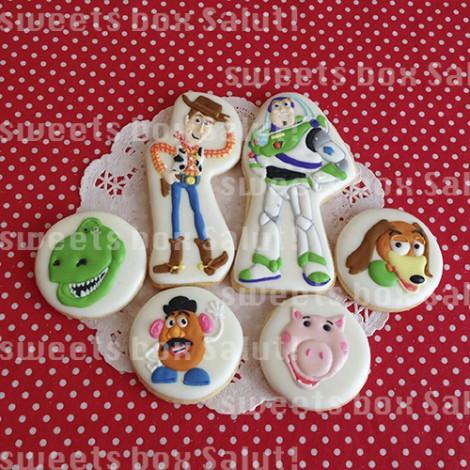 トイストーリーのお誕生日用アイシングクッキー2