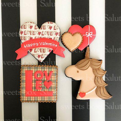 【完売御礼】バレンタインアイシングクッキー2020