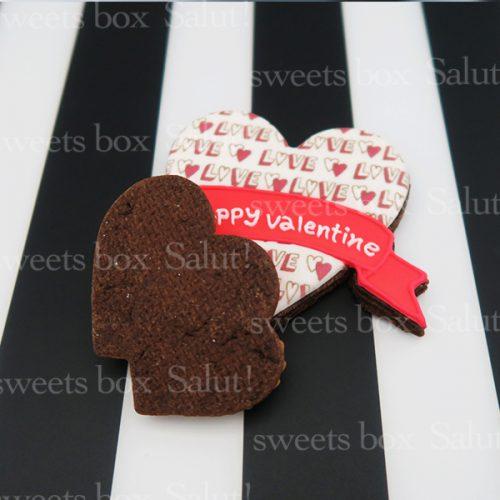 バレンタインアイシングクッキー