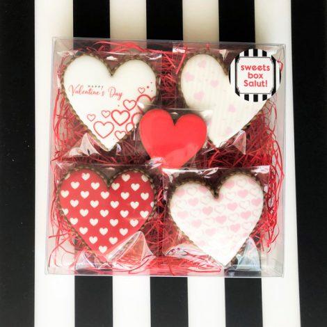 【40%OFFセール】バレンタインアイシングクッキーセット1
