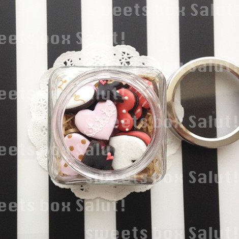 バレンタイン・アイシングクッキー詰合せボトルセット(SOLDOUT)2