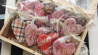 バレンタイン・アイシングクッキー詰合せボックスセット_SOLDOUT