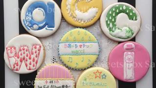 wacci ミュージックアルバム発売記念のアイシングクッキー