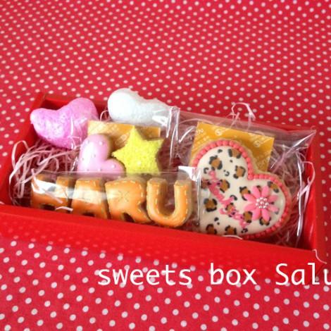 バレンタイン用個性豊かなアイシングクッキー6