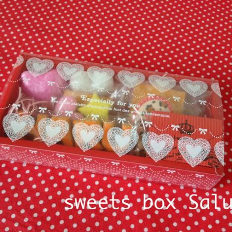 バレンタイン用個性豊かなアイシングクッキー8