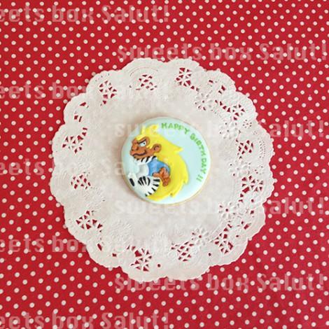 妖怪ウォッチのお誕生日用アイシングクッキー4