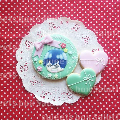 「弱虫ペダル」キャラのお誕生日用アイシングクッキー